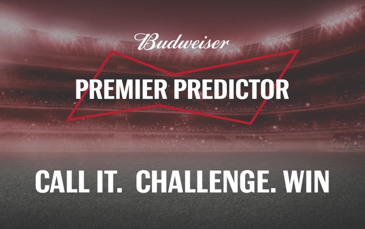 The Budweiser Premier Predictor - How To Play