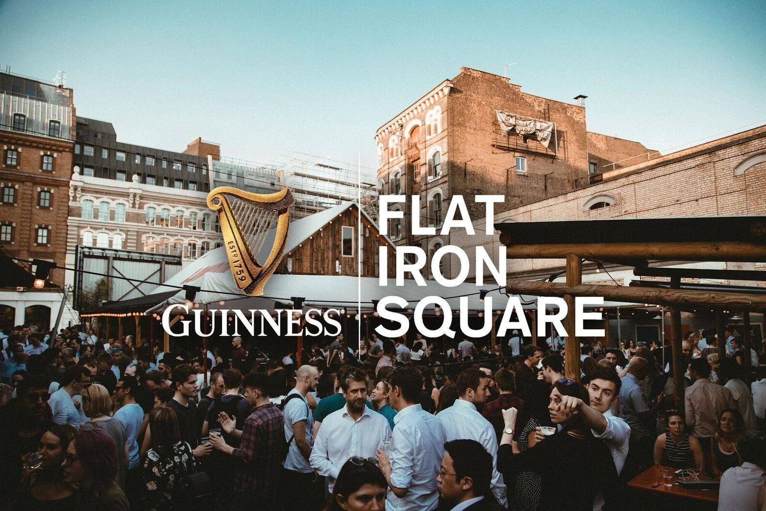 Guinness Flat Iron Square - Rugby World Cup Final Screening