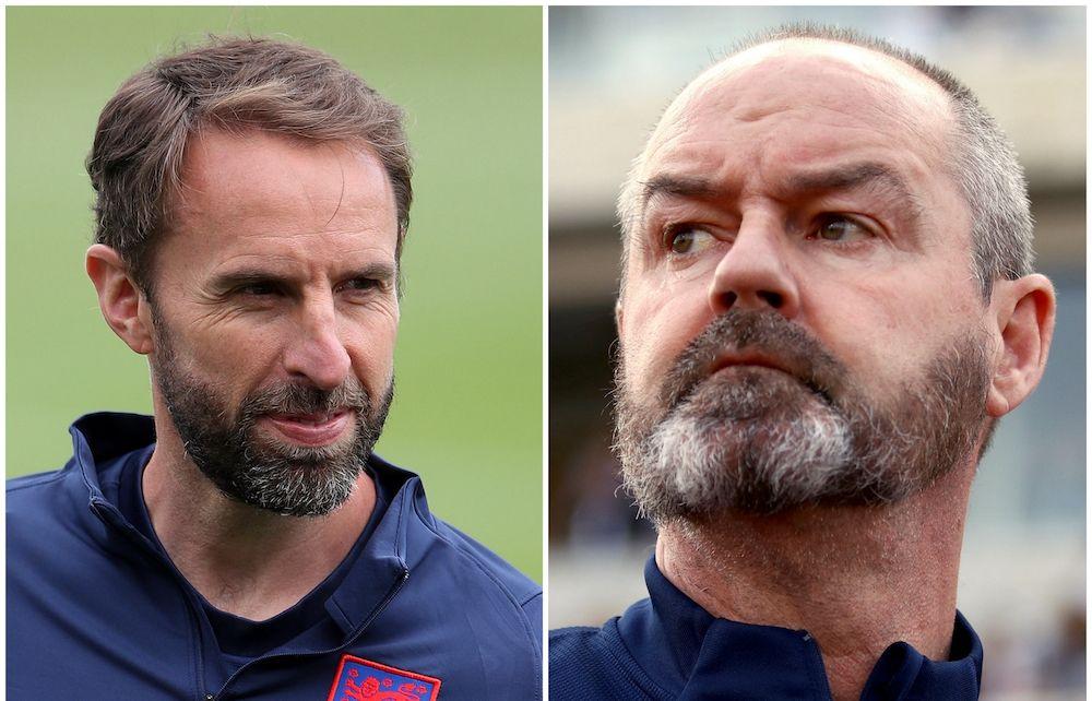 England and Scotland managers - Euro 2020